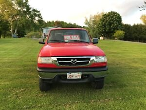 2007 Mazda B-4000 SE  4X4 with Off Road suspension Pickup Truck