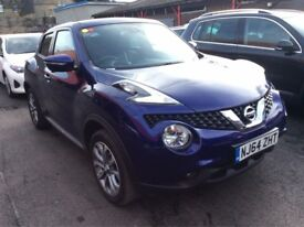 ***NISSAN JUKE 1.5 DCI TEKNA Hatchback GOOD CREDIT BAD CREDIT FINANCE AVAILABLE***