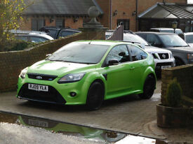 2009 09 Reg Ford Focus RS 2.5 20V ( 305ps ) Ultimate GREEN ! ( Low Milage )