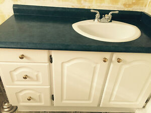 Vanity with sink and faucet Kawartha Lakes Peterborough Area image 1