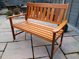 Brand new garden bench seat 4ft solid wood