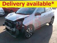 2014 Nissan Micra Tekna 1.2 DAMAGED REPAIRABLE SALVAGE