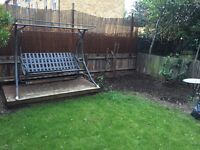 FREE Garden swing chair with cushions N1