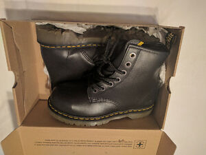 Work Safety Boots Doc Martens Steel Toe Industrial Leather BNIB