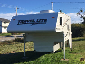 slide in truck camper for short box