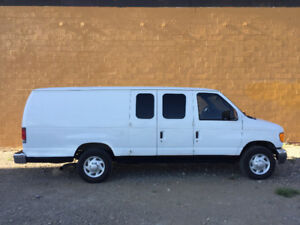 2006 Ford Econoline E250 With Cleaco Truckmount
