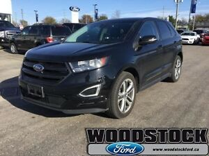2016 Ford Edge Sport   SPORT PACKAGE, LOCAL TRADE, 7953KM,