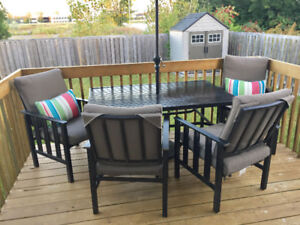 5 pcs patio set: Home Outfitter brand
