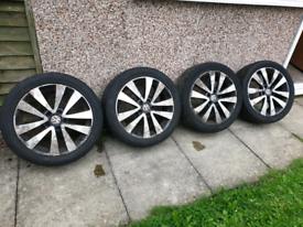 17 inch 5x100 Vw Alloy wheels