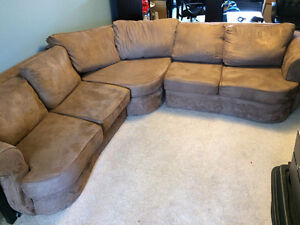 Sectional couch - custom made