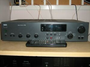NAD 705 stereo receiver with remote