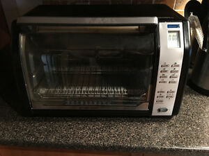 Toaster oven Black and Decker Grille pains four