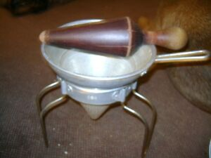 ANTIQUE CANNING STRAINER