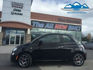 2015 Fiat 500 Sport  BLUETOOTH, FUEL SAVER, CERTIFIED/ETESTED