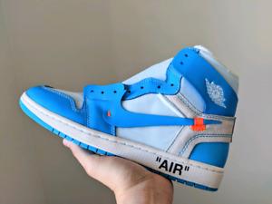 Nike air jordan 1 UNC x off white