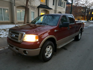 2006 Ford F-150 KING RANCH 4 X 4 Full Size. LOADED! IMMACULATE!