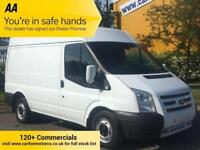 2014/ 14 Ford Transit 2.2Tdci 125 260 Swb Med Roof [ Fully Insulated ] Van /A/C