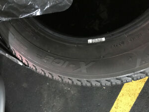 80 each.... 4 michelin X - ICE  X13's winter tires size 16