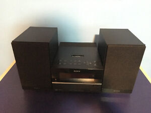 Sony Stereo System with iPod Dock