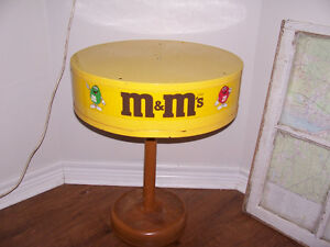 M&M Side table 24 Tall and Top is 18 in Across