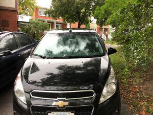 USED 2015 Chevrolet Spark 1LT under 60,000 KM! w/ winter tires