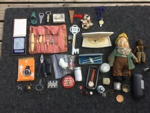 Bunch of Antique Smalls and Unique Stuff