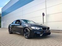 2015 15 reg BMW M4 3.0 ( 425bhp ) Coupe Black + HUGE SPEC