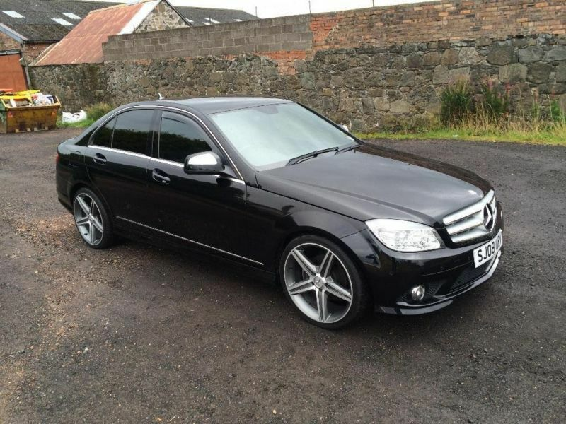 2008 mercedes benz c class 1 8 c180 kompressor sport 4dr in lochgelly fife gumtree. Black Bedroom Furniture Sets. Home Design Ideas