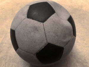 Rubber vinyl soccer balls game used in the 1970's - 1980's