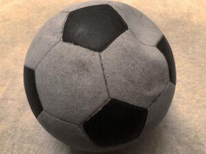 Vinyl Rubber soccer balls game used in the 1970's -1980's