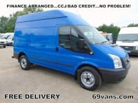 2013 13 FORD TRANSIT MWB HIGH ROOF, ONE OWNER, EURO5, FULL DOCUMENTED HISTORY,