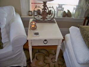2 Lovely Matching Side Tables