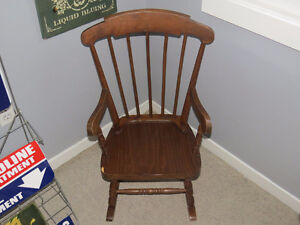 "Child's Wooden Rocking Chair ""HFX Hoarders and Collectors"""