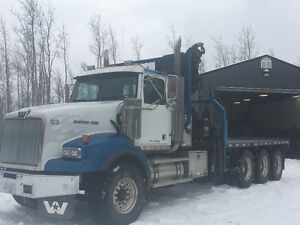 2007 Western Star Picker Truck with 20ft deck