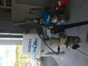 15 hp 4 stroke Suzuki for sale