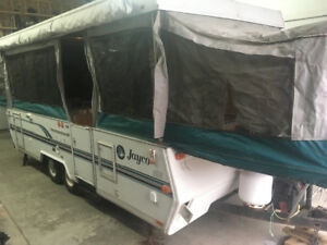 Tent trailer for parts