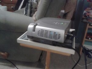 Optoma EzPro home theater projector used