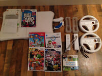Nintendo Wii Fit Games Accesories $150 OBO