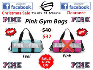 VS Pink Gym Bags (Teal Color Only) (CHRISTMAS SALE)