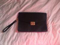 Black clutch bag accessories