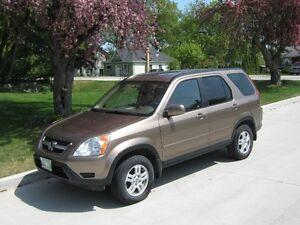 2002 Honda CR-V SUV, Crossover