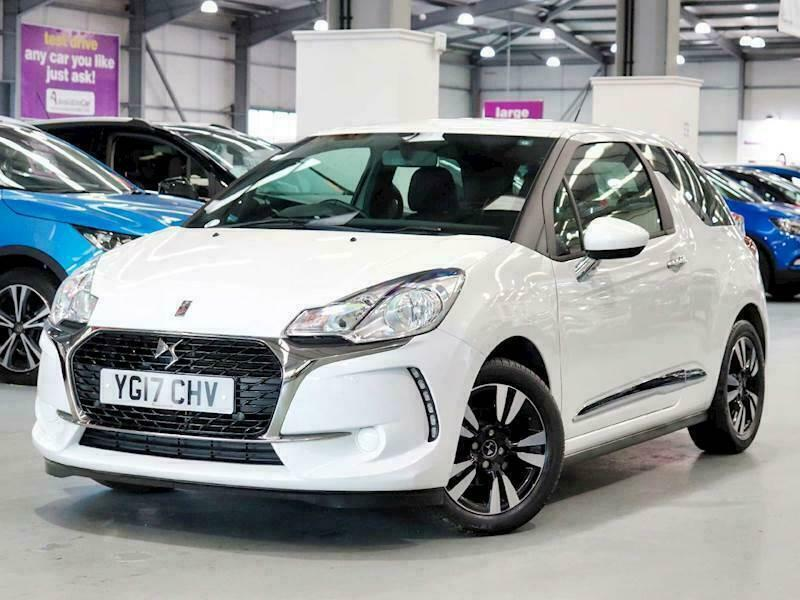 2017 DS DS 3 1.2 PureTech 82 Chic 3dr Hatchback Petrol Manual
