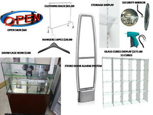 RETAIL STORE FIXTURES CALL DENISE 226-224-4935