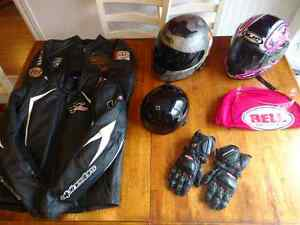 Assorted motorcycle Gear. Make an offer
