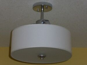 CEILING LIGHT FIXTURE complete with energy saving bulbs