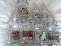 Yankee Candle Storage Jars, Selection Large/Medium/Small