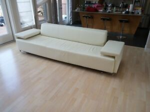 One of a Kind---- Elegant and Modern Leather sofa