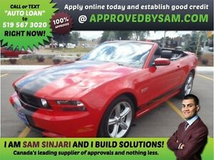 GT STANG - HIGH RISK LOANS - LESS QUESTIONS - APPROVEDBYSAM.COM
