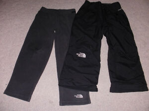 North Face 2 Pce. Ski pants  -  Boy's Size 6