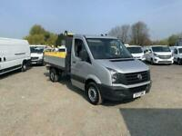 2017 VOLKSWAGEN CRAFTER 2.0 CR35 TDI C/C TIPPER *buy today from £437 per month*